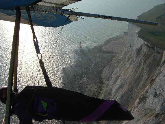 Soaring the cliffs at Beachy Head